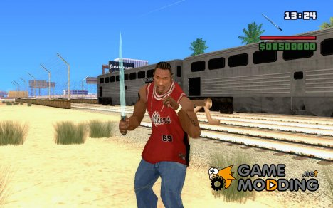 New Knife - Ice Floe для GTA San Andreas