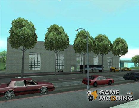Оживлённый железнодорожный вокзал в Сан Фиерро v2 для GTA San Andreas