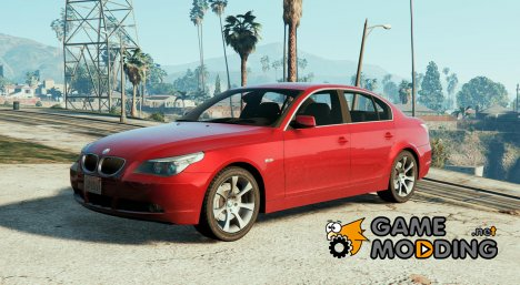 BMW E60 525d 2006 for GTA 5