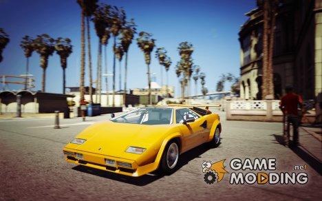 1988 Lamborghini Countach QV 1.2 for GTA 5