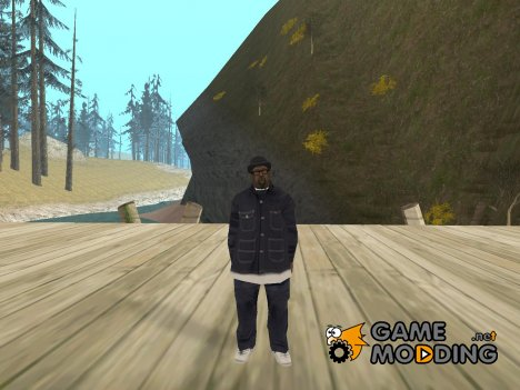 Биг Смоук в банде Балласов for GTA San Andreas