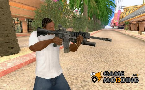 М4 мз COD4 for GTA San Andreas