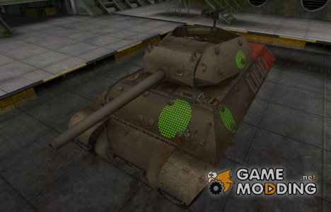 Зона пробития M10 Wolverine for World of Tanks