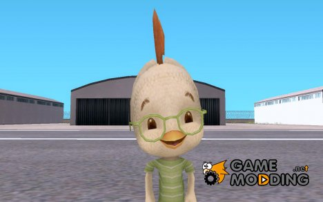 Skin do Galinho Chicken Little для GTA San Andreas