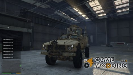 Oshkosh M-ATV for GTA 5