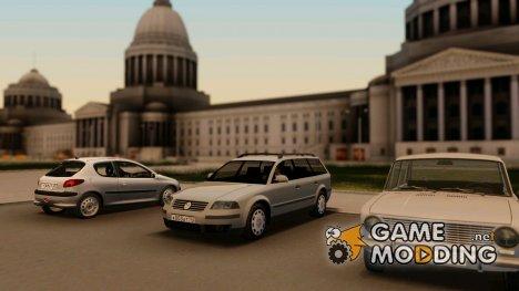 Volkswagen Passat B5+ Wagon 1,9 Diesel для GTA San Andreas