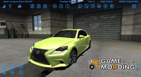 Lexus IS-350 F для Street Legal Racing Redline