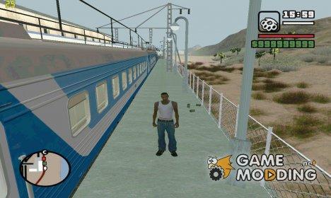 Пак Русских поездов v2 для GTA San Andreas