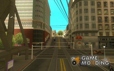 Дороги в Сан Фиерро for GTA San Andreas