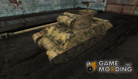 шкурка для M36 Slugger №13 for World of Tanks