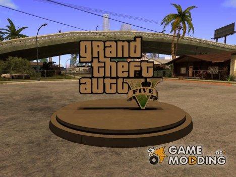 GTA V logo for GTA San Andreas