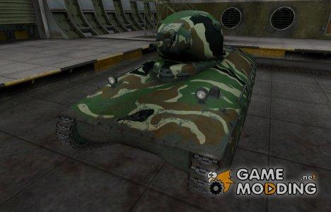 Скин с камуфляжем для AMX 40 for World of Tanks