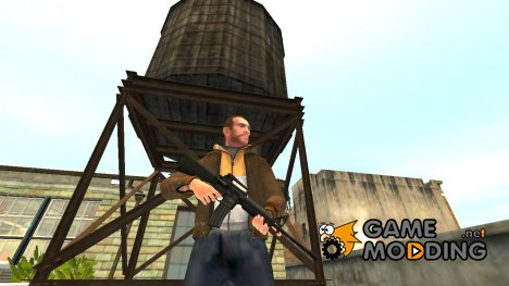 Автоматический карабин Colt M4A1 for GTA 4