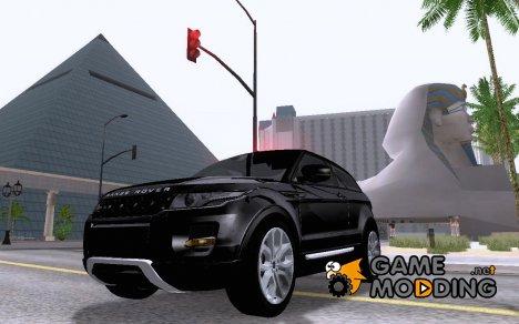 Land Rover Range Rover Evoque v1.0 для GTA San Andreas