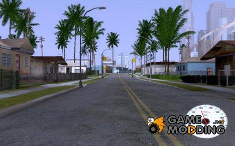 Speedometr v.0.1 for GTA San Andreas