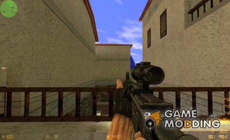 I´m Legend M16 on Brain Collector anims for Counter-Strike 1.6