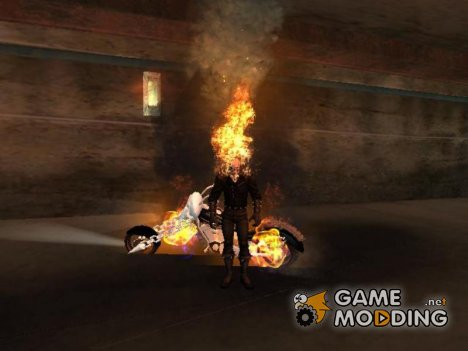 Ghost Rider mod 1.9 for GTA San Andreas