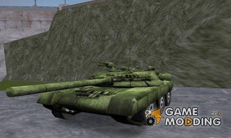 Танк Т80 для GTA 3