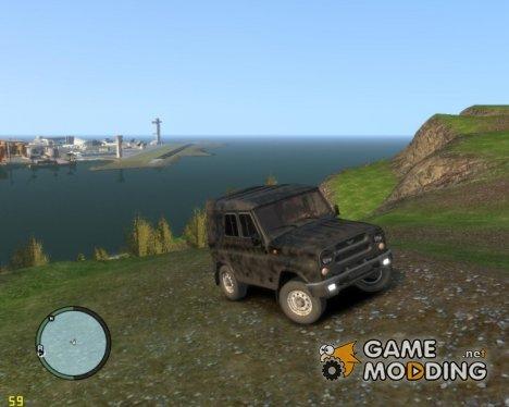 УАЗ-315195-162 (Hunter) for GTA 4