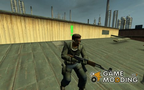 Five's GIGN Replacement- CIA Operative for Counter-Strike Source