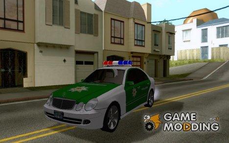 Mercedes Benz E500 Polizei for GTA San Andreas