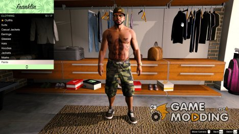 HD Camo Textures Short 1.1 for GTA 5