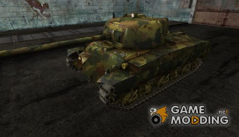 Шкурка для T20 jungle ghost for World of Tanks