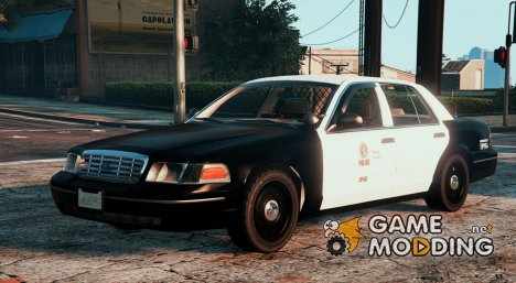 1999 Ford Crown Victoria Slicktop LSPD for GTA 5