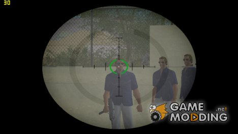 Оптический прицел из GTA V v.2 для GTA Vice City