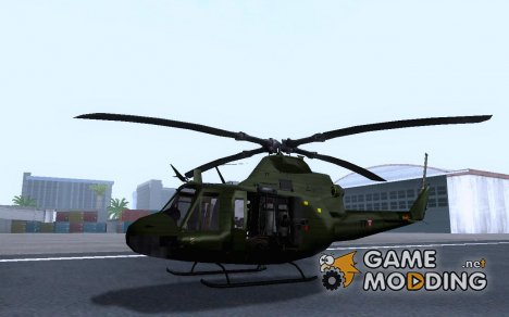 Bell 412 Mexican Air Force for GTA San Andreas