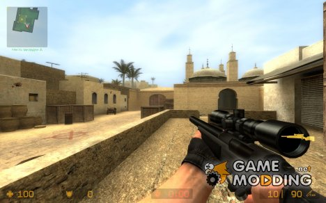 Scout Black Edition для Counter-Strike Source