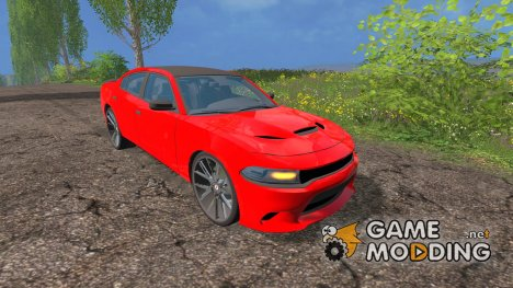 Dodge Charger Hellcat for Farming Simulator 2015
