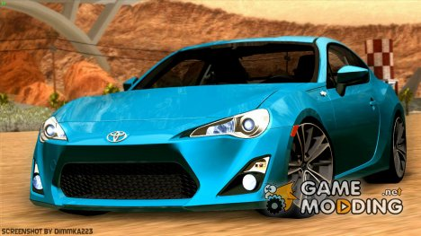 Toyota GT86 (ZN6) 2012 for GTA San Andreas
