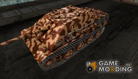Шкурка для JagdPanther №60 for World of Tanks