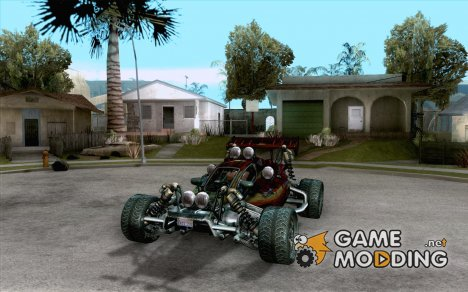 XCALIBUR CD 4.0 XS-XL RACE Edition for GTA San Andreas