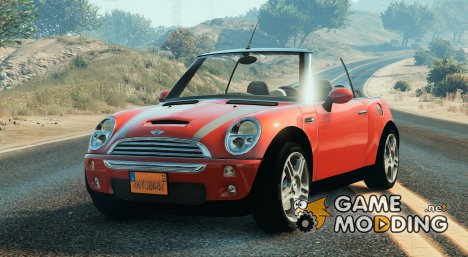 Mini Cooper S Convertible BETA 0.2 для GTA 5
