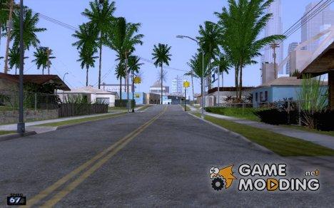 Самый маленький спидометр V2 for GTA San Andreas