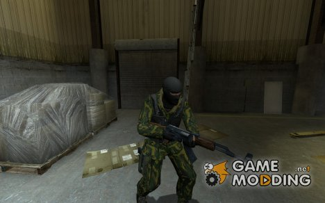 Russian Woodland Camo Terrorist for Counter-Strike Source