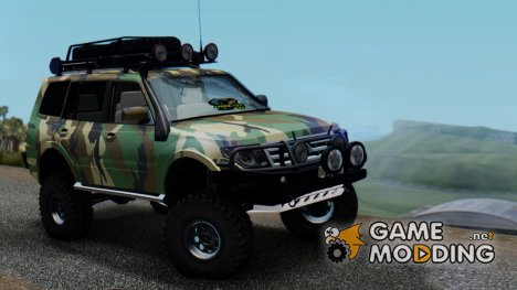 Mitsubishi Pajero IV Off Road for GTA San Andreas