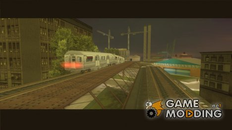 Новый поезд из игры True Crime - New York City для GTA 3