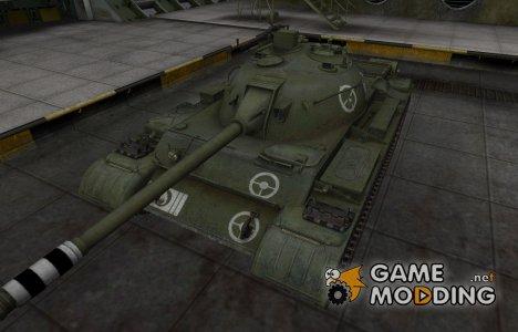 Зоны пробития контурные для Type 62 для World of Tanks