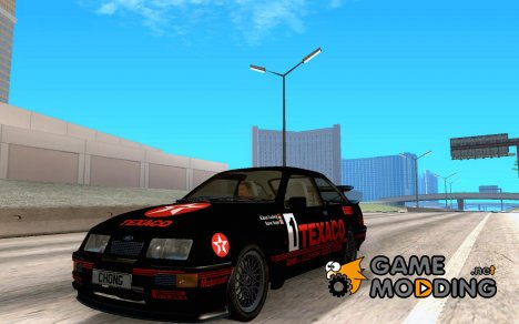 Ford Sierra RS500 Race Edition для GTA San Andreas