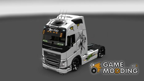 Skin Volvo FH Fantazy for Euro Truck Simulator 2