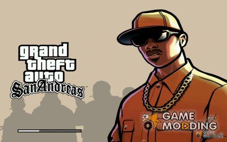 Все  загрузочные экраны из GTA SA Mobile для GTA San Andreas
