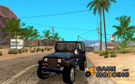 Jeep Wrangler 1986(2) для GTA San Andreas