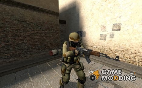 SyKo's Desert Combat CT for Counter-Strike Source