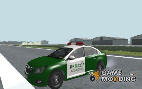 Chevrolet Cruze Carabineros Police для GTA San Andreas