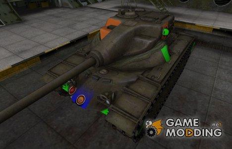 Качественный скин для T54E1 для World of Tanks