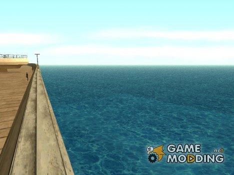 Новые текстуры воды for GTA San Andreas