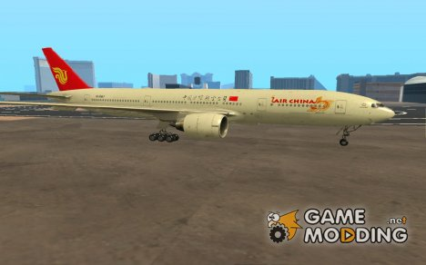 Boeing 777-200ER Air China new livery для GTA San Andreas